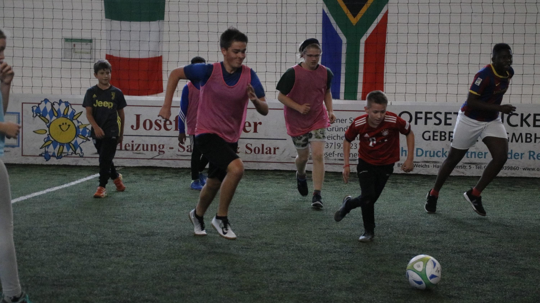soccertag - Voller Einsatz